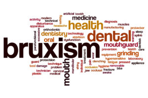 Bruxism word cloud